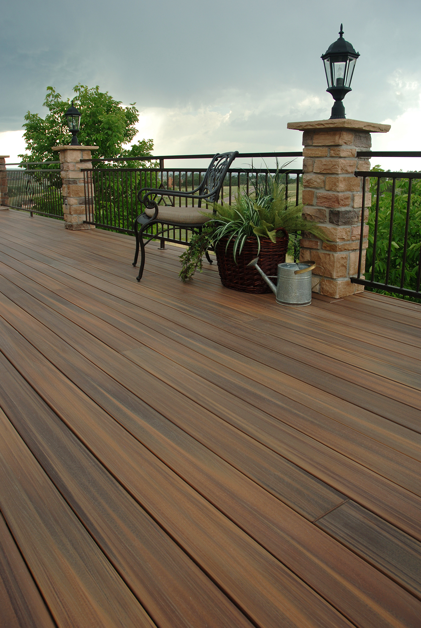 Composite Deck Vs Patios Compare The Pros Amp Cons And