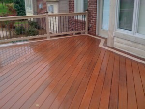 use more than one composite decking color
