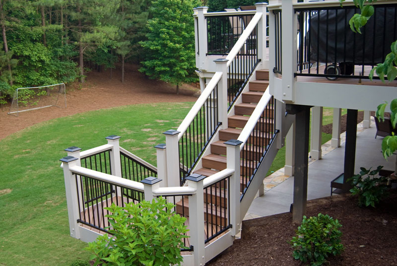 Fiberon Composite Deck Showcase Peachtree Decks And