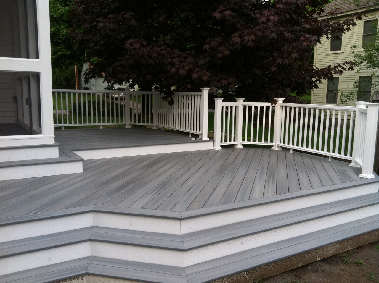Deck showcase lenzi construction remodeling deck talk for 43591 white cap terrace