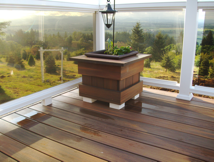 ClearVisionSystem, Fiberon composite decking and railing