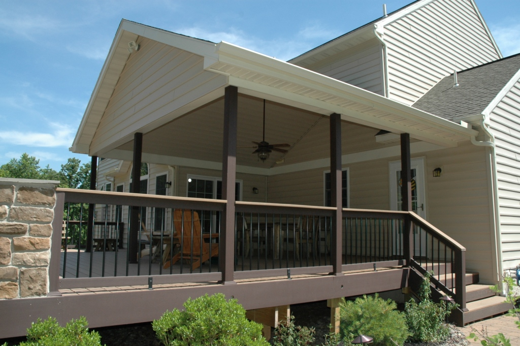 Image Result For Building A Small Porch Deck
