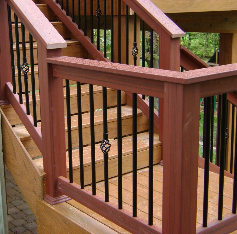 Decking materials we offer many deck material options such for Synthetic deck material
