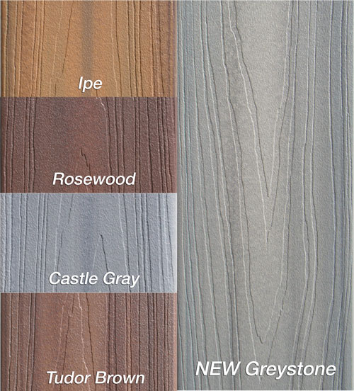 Fiberon Decking At International Builders Show New Colors