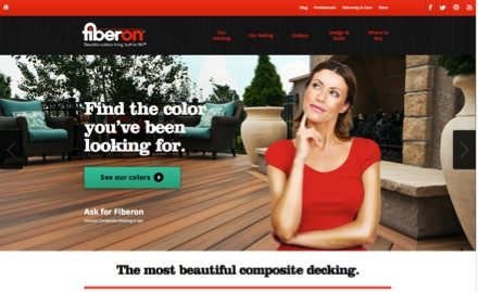 Fiberon's New Web Page