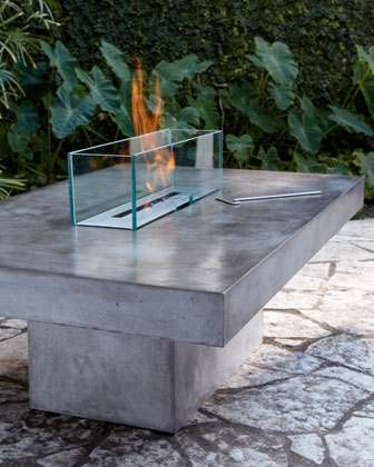 Horchow Outdoor Firepit