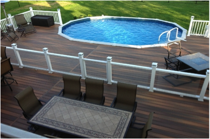 How to keep cool on your fiberon deck deck talk for Cool decking around pool