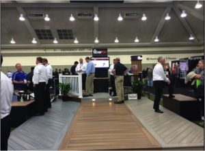 Fiberon Booth at Deck Expo 2014