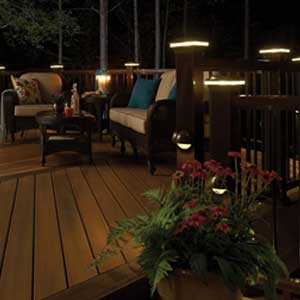 fiberon post cap lights blog blog 3 deck accent lighting