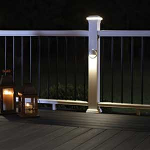 fiberon post sleeve lights blog blog 3 deck accent lighting