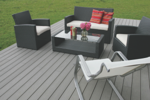 How to install fiberon decking over a concrete patio - Idee amenagement terrasse exterieure ...