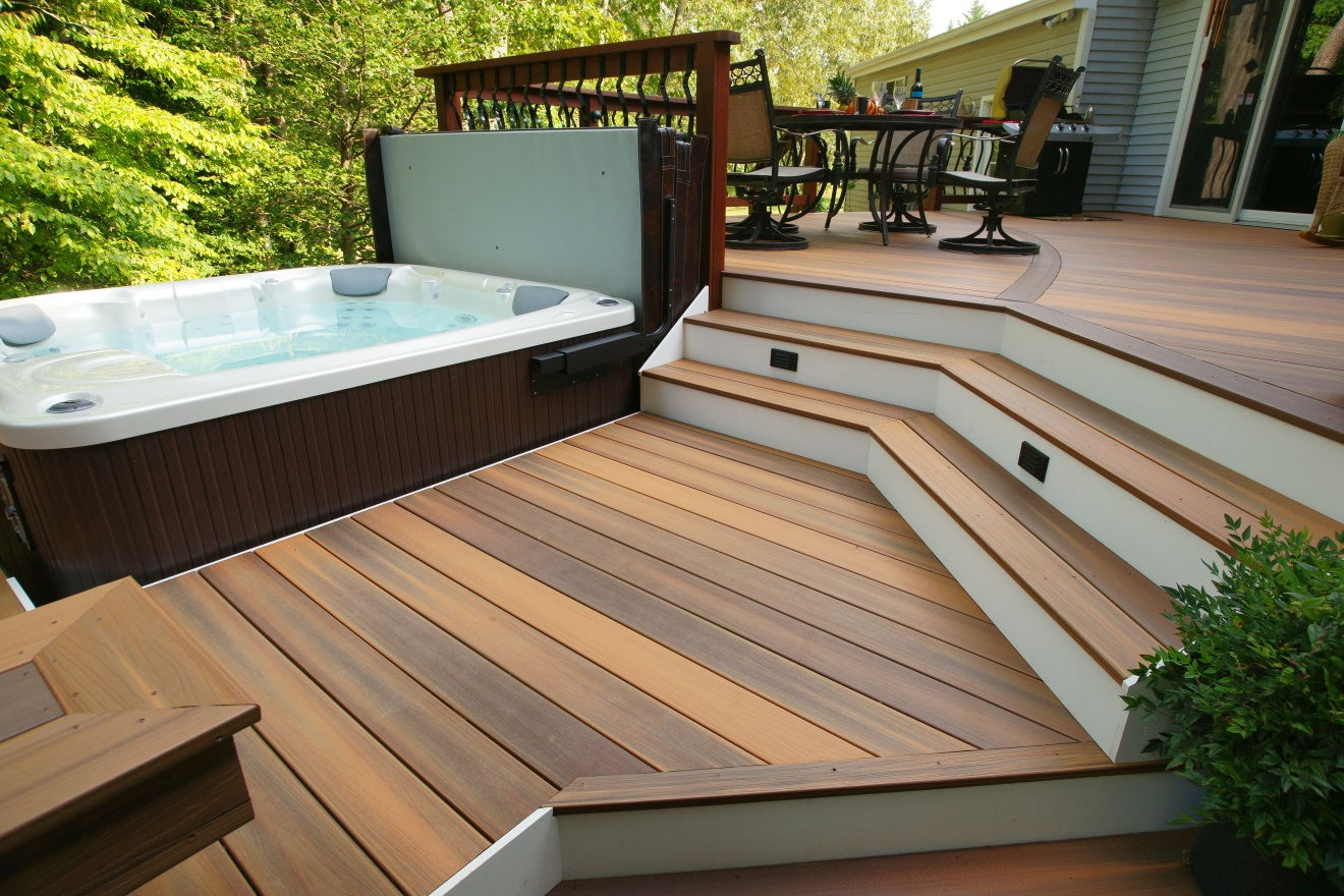 How to find your ideal deck board deck talk for Outside decking material