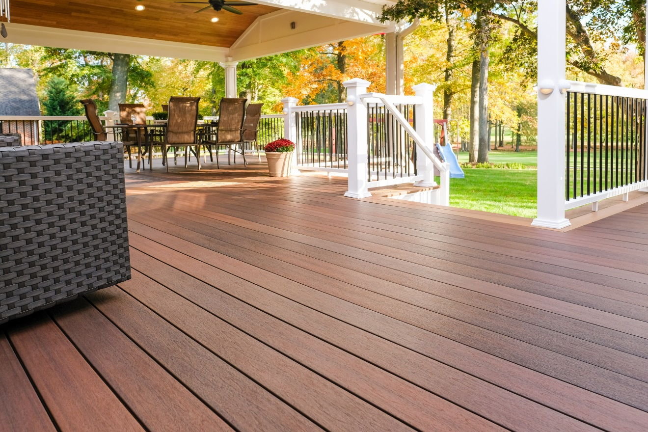 how to build a deck composite board