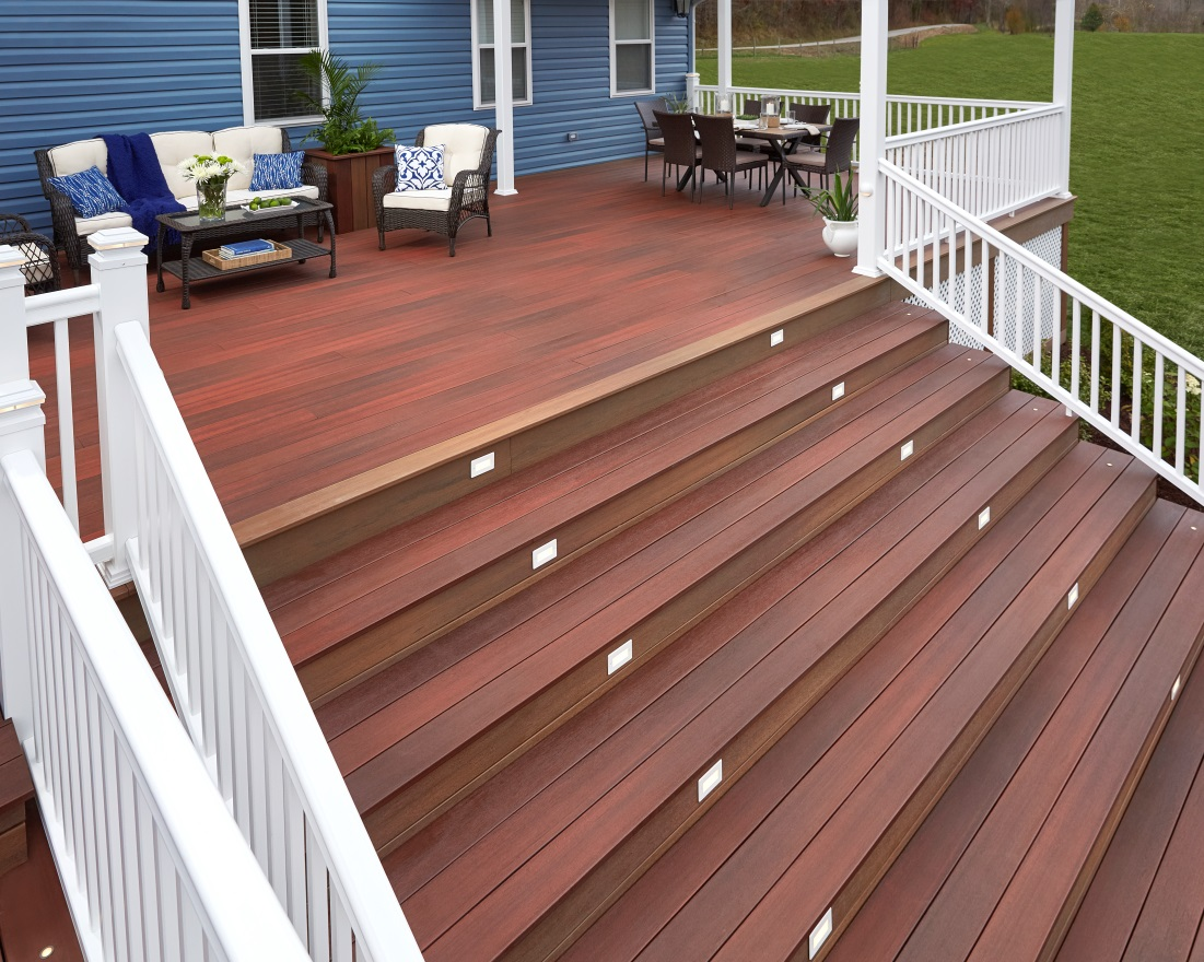 Decking designer decks mn composite deck builders azek Composite flooring for decks